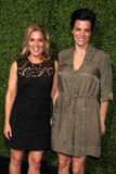 Oprah Winfrey, Cat Cora Images libres de droits
