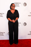 Oprah Winfrey. NEW YORK, NY - APRIL 20: Actress/executive producer Oprah Winfrey attends the Tribeca Tune In: 'Greenleaf' Screening at John Zuccotti Theater at Stock Image