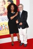 Oprah Winfrey, Steven Spielberg Imagem de Stock