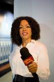 Oprah Winfrey Wax Figure Stockfotos