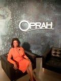 Oprah Winfrey Waxwork Figure lizenzfreies stockfoto