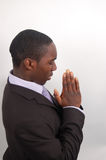 Oprechte Prayer2 Stock Foto's