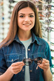 Oprician store Stock Images