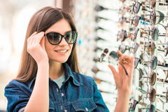 Oprician store Stock Photography