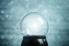 Opróżnia śnieżną kulę ziemską Obraz Royalty Free