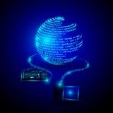 Oprogramowania cyfrowania i rozwoju program Obrazy Stock