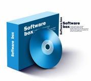 Oprogramowania pudełko Fotografia Royalty Free