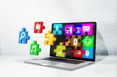 Oprogramowanie Fotografia Stock