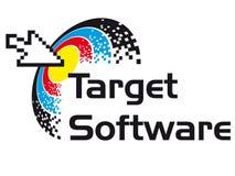 oprogramowanie cel Obrazy Stock