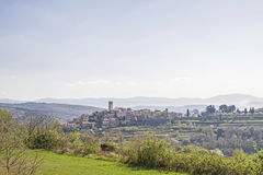 Oprtali in Istria. Oprtali - idyllic small town on a hill in central istria royalty free stock photos