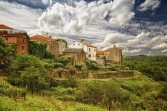Oprtalj Partole-italian, Croatia. Royalty Free Stock Photography