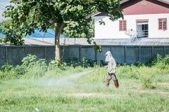 Opryskiwanie pestycyd zdjęcia stock