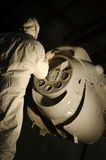 opryskiwanie silnika Zdjęcia Royalty Free