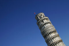 oprzeć wieżę w pizie zdjęcia royalty free