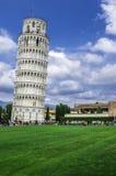 oprzeć wieżę w pizie fotografia stock