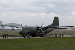 ops för flygvapenevactysk Arkivfoto