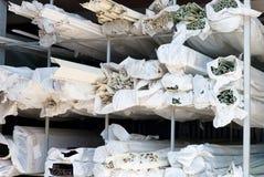 Opschortende bouwmaterialen Stock Foto