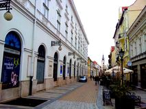 Opslag in Miskolc, Hongarije Stock Foto's