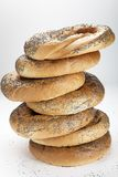 Opslag van ongezuurde broodjes Stock Afbeeldingen