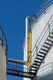 Opslag voor fossiele brandstof. Royalty-vrije Stock Fotografie