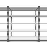 Opslagplanken Stock Foto's