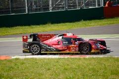 Opstand die r-Één test van AERs rennen LMP1 in Monza Royalty-vrije Stock Foto's