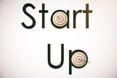 Opstarten en het streven van concept Stock Afbeelding