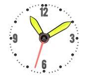 Opstelling uw tijd Stock Afbeeldingen