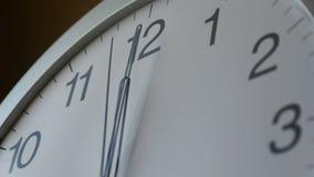 Opstelling uw tijd stock footage