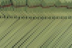 Opstellings donkergroene hoek Stock Foto's