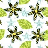 Opt art seamless pattern Stock Photography