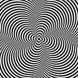 Optar Art Illustration no fundo branco para seu desig Imagens de Stock