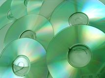 Optic discs Royalty Free Stock Photography