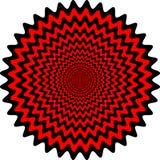 Optic illusion Stock Image