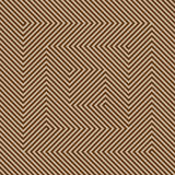 Optic illusion. Abstract design with geometric shapes optical illusion illustration Stock Photo
