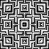 Optic illusion.geometric seamless pattern Stock Photography