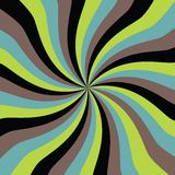 Optical art. Background with abstract twirl Stock Photo