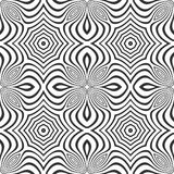 Optical art abstract seamless pattern Royalty Free Stock Image