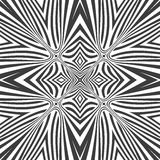 Optical art abstract seamless pattern Royalty Free Stock Photo