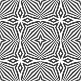 Optical art abstract seamless pattern Stock Photography