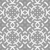Optical art abstract seamless pattern Stock Image