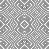 Optical art abstract seamless pattern Stock Photos