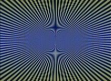 Optical art background. Optical art multicolor black, yellow, blue background royalty free illustration
