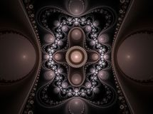 Optical Art Grand Julian Fractal 01 Stock Images