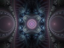 Optical Art Grand Julian Fractal 15 Stock Images