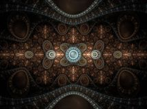 Optical Art Grand Julian Fractal 17 Stock Image