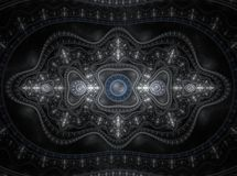 Optical Art Grand Julian Fractal 18 Royalty Free Stock Photo