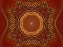 Optical Art Grand Julian Fractal 28 Royalty Free Stock Photos