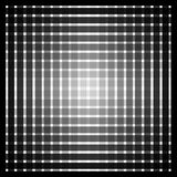 Optical art grid Royalty Free Stock Image