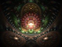 Optical Art Home of the Buddah 03 Royalty Free Stock Image